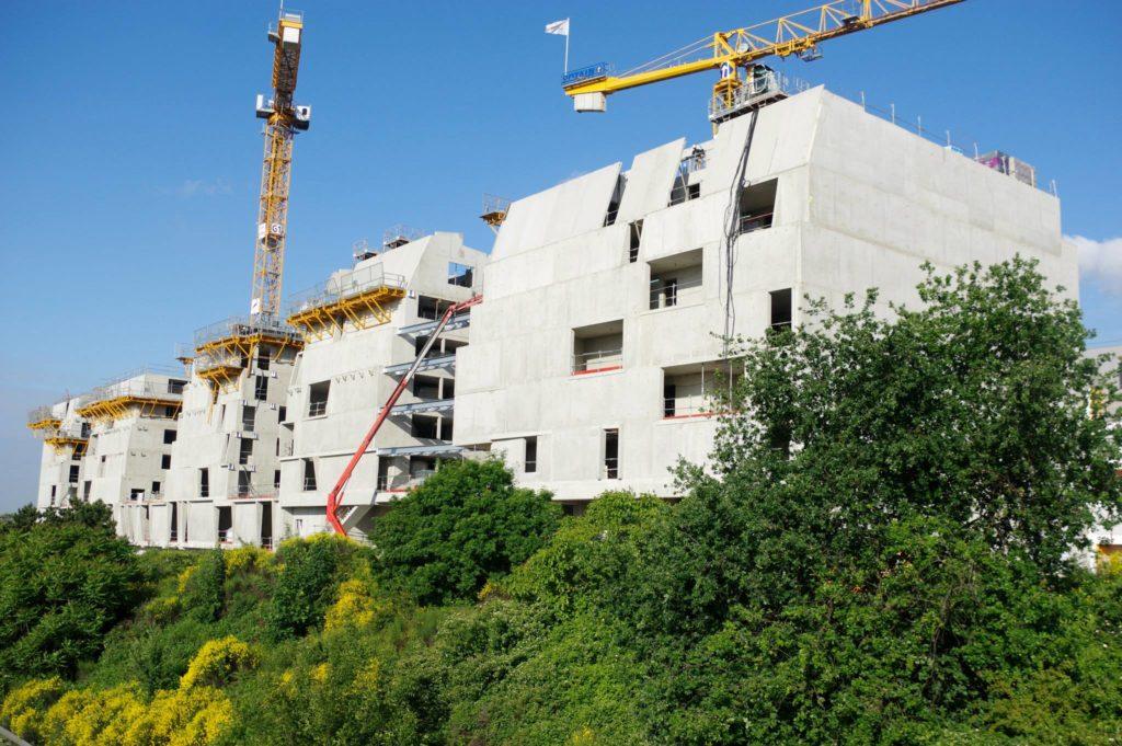 Réalisations de logements en Ile de France